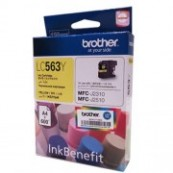 Brother LC-563Y Yellow Genuine Original Printer Ink Cartridge